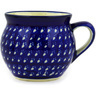 12 oz Stoneware Bubble Mug - Polmedia Polish Pottery H9319D