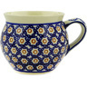 12 oz Stoneware Bubble Mug - Polmedia Polish Pottery H9495D