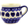 12 oz Stoneware Bubble Mug - Polmedia Polish Pottery H9504D