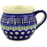 12 oz Stoneware Bubble Mug - Polmedia Polish Pottery H9655D