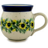 12 oz Stoneware Bubble Mug - Polmedia Polish Pottery H9957C
