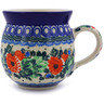 12 oz Stoneware Bubble Mug - Polmedia Polish Pottery H9968A