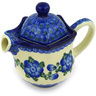 12 oz Stoneware Creamer with Lid - Polmedia Polish Pottery H5091D