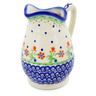 12 oz Stoneware Pitcher - Polmedia Polish Pottery H0081I