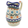 12 oz Stoneware Pitcher - Polmedia Polish Pottery H0208K