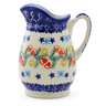 12 oz Stoneware Pitcher - Polmedia Polish Pottery H1235J