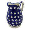 12 oz Stoneware Pitcher - Polmedia Polish Pottery H1274J
