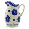 12 oz Stoneware Pitcher - Polmedia Polish Pottery H4084J