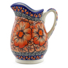 12 oz Stoneware Pitcher - Polmedia Polish Pottery H4165J