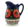 12 oz Stoneware Pitcher - Polmedia Polish Pottery H5357I