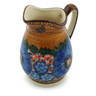 12 oz Stoneware Pitcher - Polmedia Polish Pottery H5358I