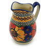 12 oz Stoneware Pitcher - Polmedia Polish Pottery H6122I