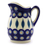 12 oz Stoneware Pitcher - Polmedia Polish Pottery H7073I