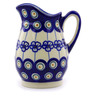 12 oz Stoneware Pitcher - Polmedia Polish Pottery H7075I