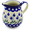 12 oz Stoneware Pitcher - Polmedia Polish Pottery H8640F