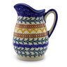 12 oz Stoneware Pitcher - Polmedia Polish Pottery H9216I