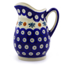12 oz Stoneware Pitcher - Polmedia Polish Pottery H9884I