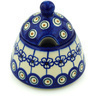 12 oz Stoneware Sugar Bowl - Polmedia Polish Pottery H0448H