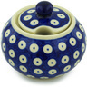 12 oz Stoneware Sugar Bowl - Polmedia Polish Pottery H0827H