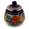 12 oz Stoneware Sugar Bowl - Polmedia Polish Pottery H0903K
