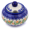 12 oz Stoneware Sugar Bowl - Polmedia Polish Pottery H1300J