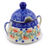 12 oz Stoneware Sugar Bowl - Polmedia Polish Pottery H2248J