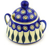 12 oz Stoneware Sugar Bowl - Polmedia Polish Pottery H2381F