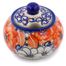 12 oz Stoneware Sugar Bowl - Polmedia Polish Pottery H2597J