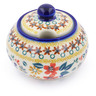 12 oz Stoneware Sugar Bowl - Polmedia Polish Pottery H2742J