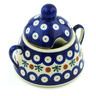 12 oz Stoneware Sugar Bowl - Polmedia Polish Pottery H3527H