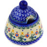 12 oz Stoneware Sugar Bowl - Polmedia Polish Pottery H3743E