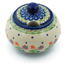 12 oz Stoneware Sugar Bowl - Polmedia Polish Pottery H3826E