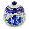 12 oz Stoneware Sugar Bowl - Polmedia Polish Pottery H4140K