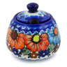12 oz Stoneware Sugar Bowl - Polmedia Polish Pottery H4153K