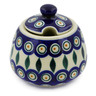 12 oz Stoneware Sugar Bowl - Polmedia Polish Pottery H4163K