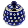 12 oz Stoneware Sugar Bowl - Polmedia Polish Pottery H4342K