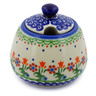 12 oz Stoneware Sugar Bowl - Polmedia Polish Pottery H4365K