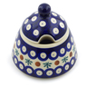 12 oz Stoneware Sugar Bowl - Polmedia Polish Pottery H4528J