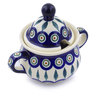 12 oz Stoneware Sugar Bowl - Polmedia Polish Pottery H4916C