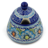 12 oz Stoneware Sugar Bowl - Polmedia Polish Pottery H6187F
