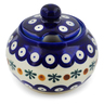 12 oz Stoneware Sugar Bowl - Polmedia Polish Pottery H6778F