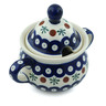 12 oz Stoneware Sugar Bowl - Polmedia Polish Pottery H7638H