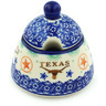 12 oz Stoneware Sugar Bowl - Polmedia Polish Pottery H8194H