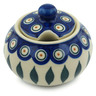 12 oz Stoneware Sugar Bowl - Polmedia Polish Pottery H9837H