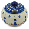 12 oz Stoneware Sugar Bowl - Polmedia Polish Pottery H9877H