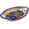 13-inch Stoneware Bowl with Handles - Polmedia Polish Pottery H1777G