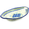 13-inch Stoneware Bowl with Handles - Polmedia Polish Pottery H8294H