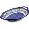 13-inch Stoneware Bowl with Handles - Polmedia Polish Pottery H9109I