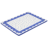 13-inch Stoneware Cookie Sheet - Polmedia Polish Pottery H0793J