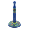 13-inch Stoneware Paper Towel Stand - Polmedia Polish Pottery H7627I